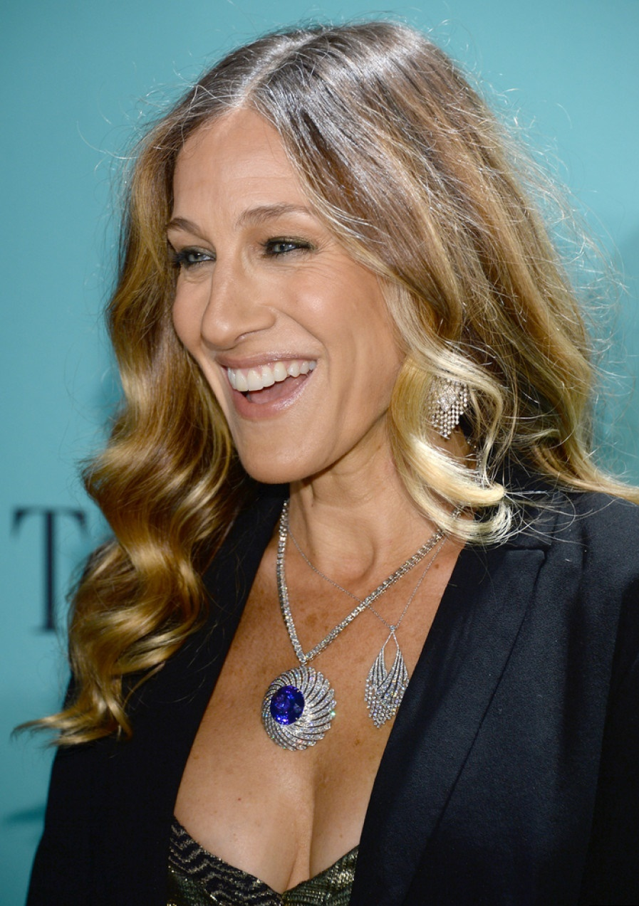 Tiffany  Co. Celebrates Its Blue Book Ball At Rockefeller Center In New York City , Sarrah jessica parker walk